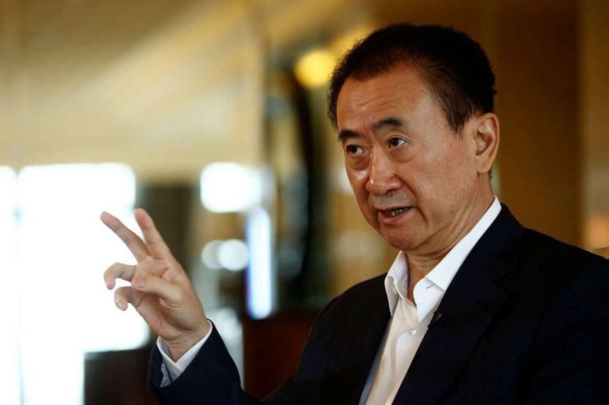 China's richest man, Wang Jianlin warns that China Inc's football splurge could leave investors burnt and out of pocket.