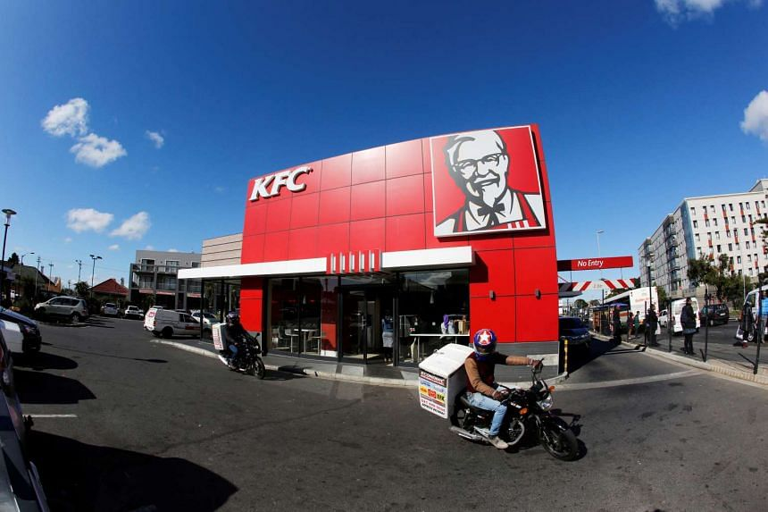 A branch of fast food outlet Kentucky Fried Chicken in Cape Town, South Africa, on June 3, 2016.
