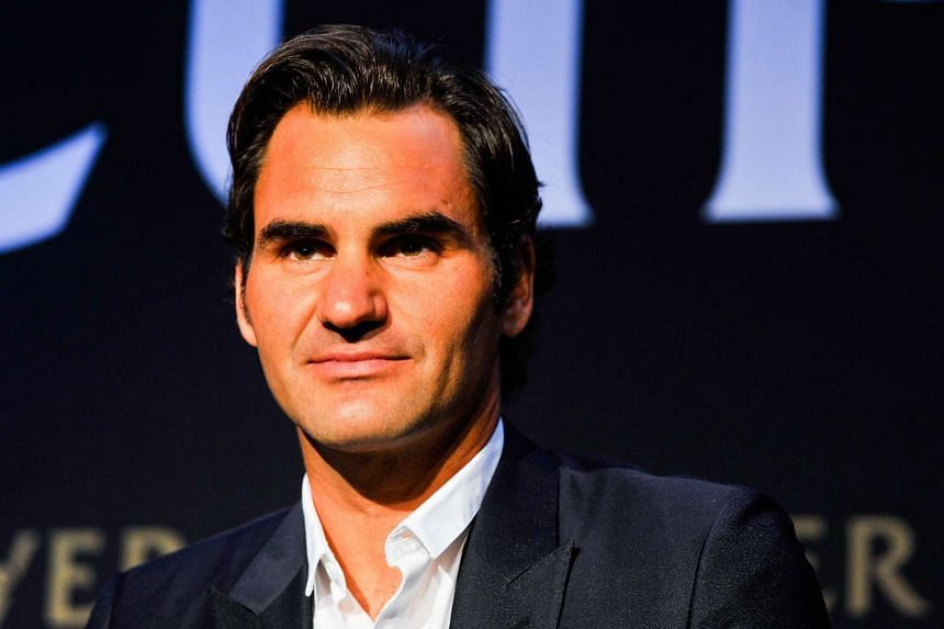 Roger Federer speaks during a Laver Cup media announcement at the St Regis Hotel on Aug 24, 2016, in New York City.