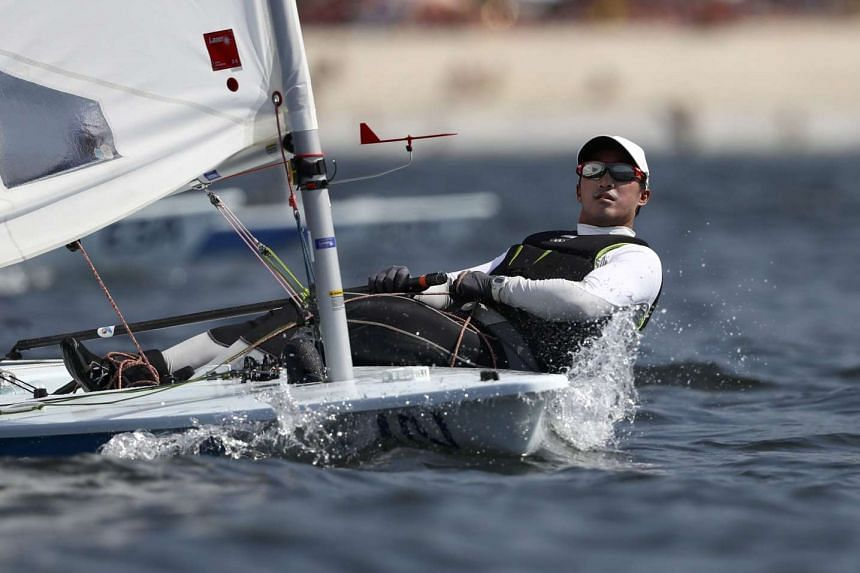 """Above Sailor Colin Cheng said of the Rio experience: """"We probably came away with lessons learnt."""""""