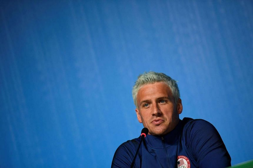 US Swimmer Ryan Lochte has been charged with making a false statement about being robbed at gunpoint during the Olympics.