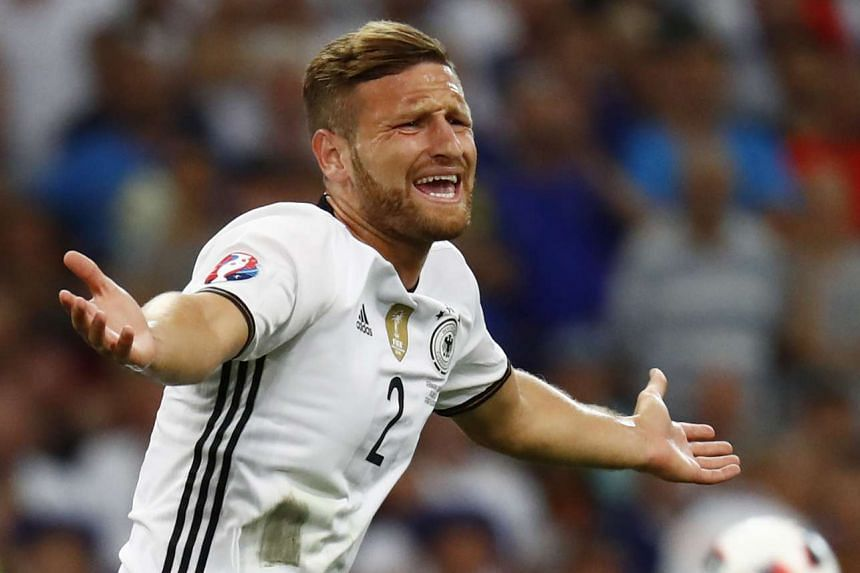 Arsenal have agreed to pay £35m (S$69m) to sign Valencia's Shkodran Mustafi (pictured).