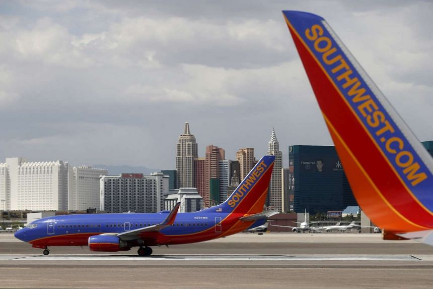 A man in boxer shorts was arrested after he scaled a fence and rammed a pickup truck into a Southwest Airlines airplane parked at Eppley Airfield in Omaha, Nebraska.