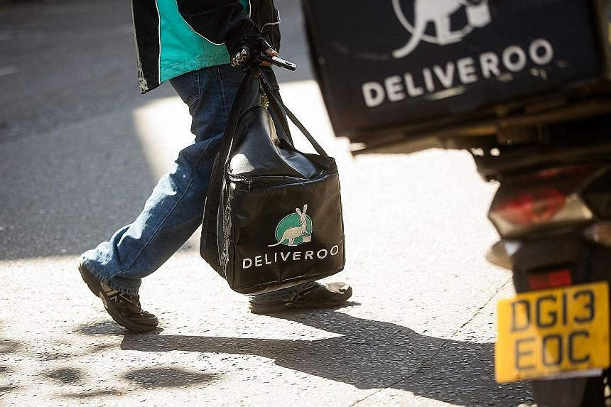 Deliveroo, one of the bigger players here, said most of its 1,700 partners are not on exclusive terms. It also said it was not the company in the CCS statement.