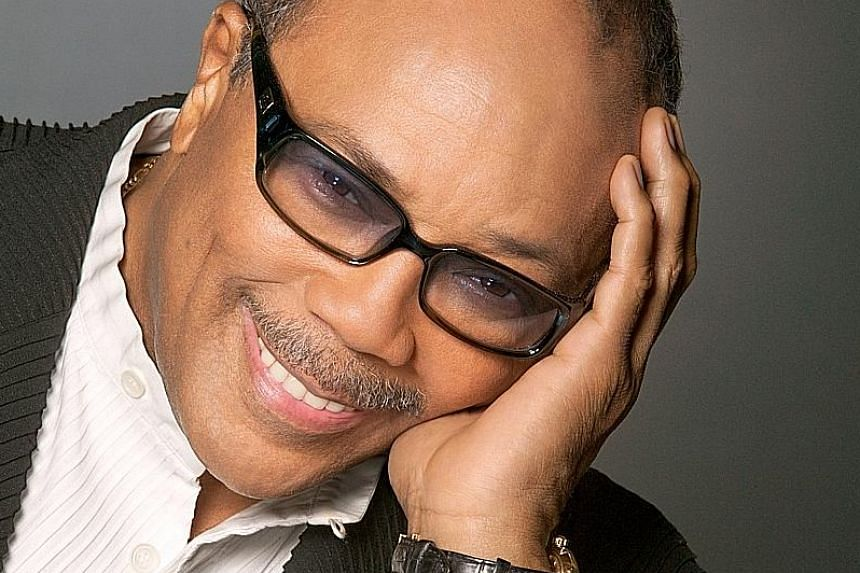 Music producer Quincy Jones