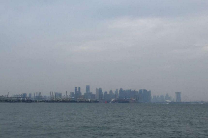 Singapore's skyline on Friday morning.