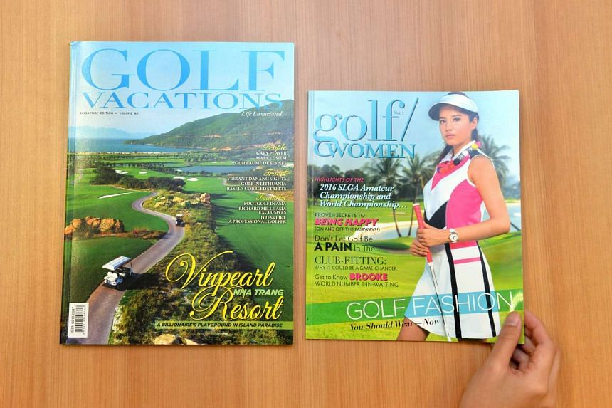 Pacom Media, which owns Golf Vacations, has been acquired by Singapore Press Holdings.
