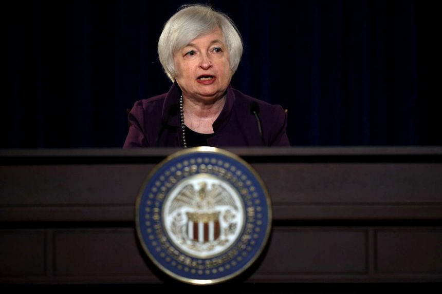 Wall Street rises on Friday morning, minutes before a speech by Federal Reserve Chair Janet Yellen.
