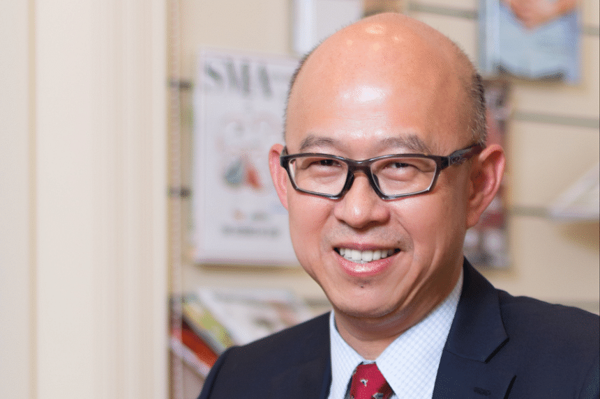 Professor Pierce Chow, the president of the College of Clinician Scientists, Academy of Medicine,