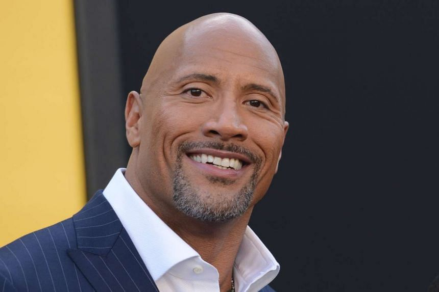 Dwayne Johnson (above) is the world's highest-paid actor, Forbes magazine reported on Aug 25, 2016.
