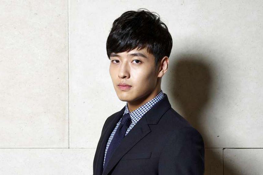 Korean actor Kang Ha Neul.