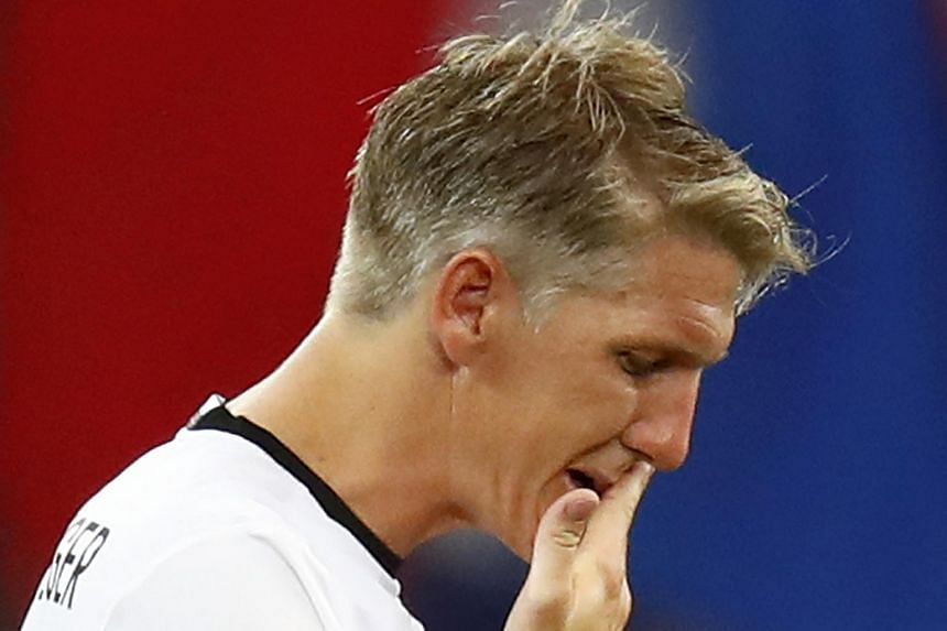 Bastian Schweinsteiger after Germany's Euro 2016 semi-final loss against France on July 7.