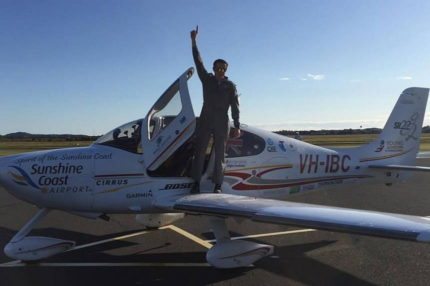 Australian teenager Lachlan Smart becoming the youngest person to complete a solo circumnavigation of the world in a single engine aircraft.