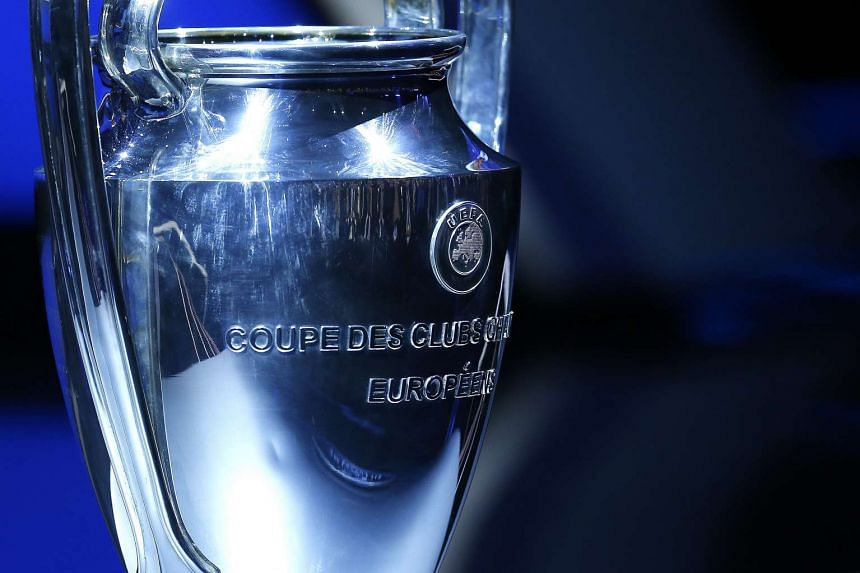 View of the Uefa Champions League trophy during the Uefa Champions League 2016/17 draw, at Grimaldi Forum, in Monte Carlo, in Monaco, on Aug 25, 2016.