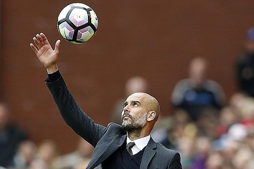 Manchester City manager Pep Guardiola will be facing his old club Barcelona, where he spent 22 years, in the Champions League.