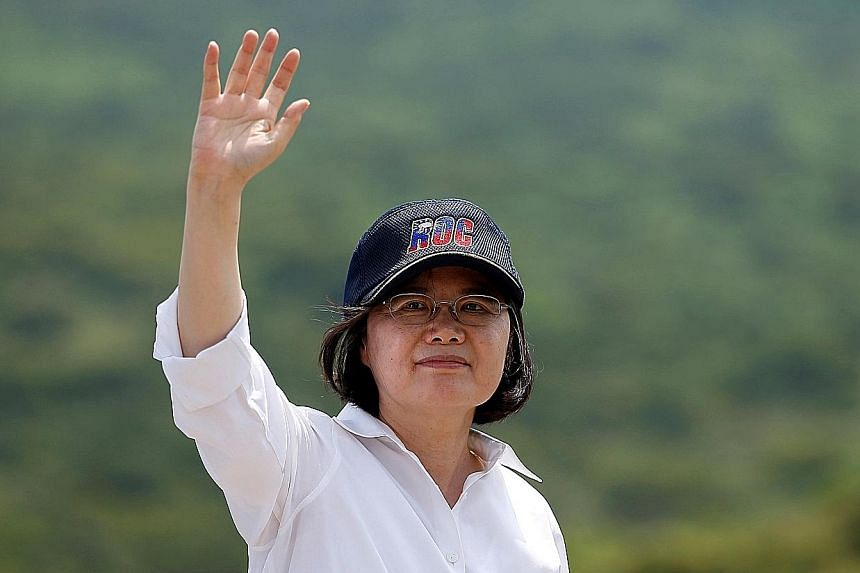Ms Tsai's cautious start to her presidency has not endeared her to those Taiwanese voters who were hoping for quick action on reforms.
