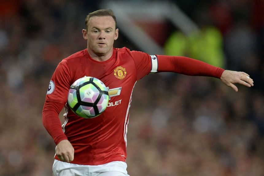 Manchester United's English striker Wayne Rooney controls the ball during the English Premier League football match between Manchester United and Southampton at Old Trafford, on Aug 19, 2016.