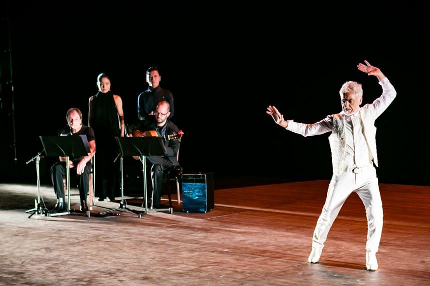 The life of 75-year-old Singapore-based flamenco dancer Antonio Vargas is enacted on stage by Vargas himself, eight actors and two musicians in The Last Bull.