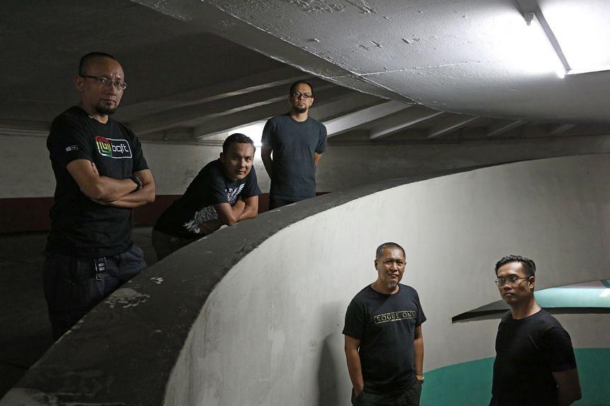 LC93 comprise (from left) Faisal Sahrol, Izar Ahmad, Ady Nur Iskander Shawal, Suhaimi Subandie and Mohd Haermee Othman.