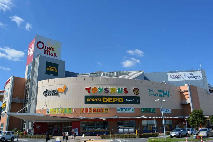 The trustee- manager for Croesus notes that the gross revenue for the previous year was lower as One's Mall (left) in Chiba in Japan, which was acquired in October 2014, contributed to turnover for only 81/2 months instead of a full year.