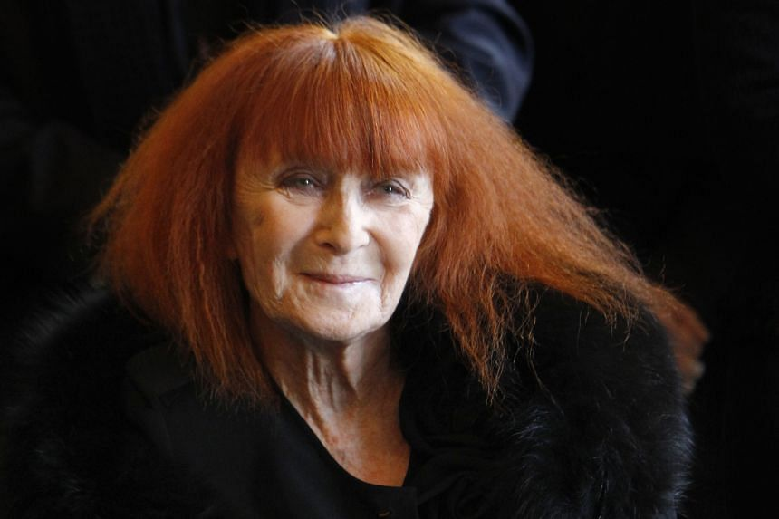 "French fashion designer Sonia Rykiel (above), who died on Thursday, was called ""the queen of knitwear"" in the 1970s."