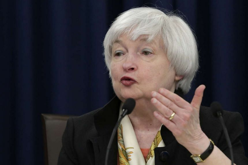 Market watchers had been waiting for Yellen (above) to show her hand.