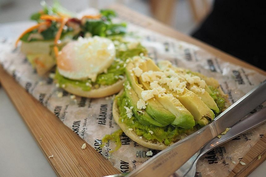 Smashed Avocado & Feta Toast