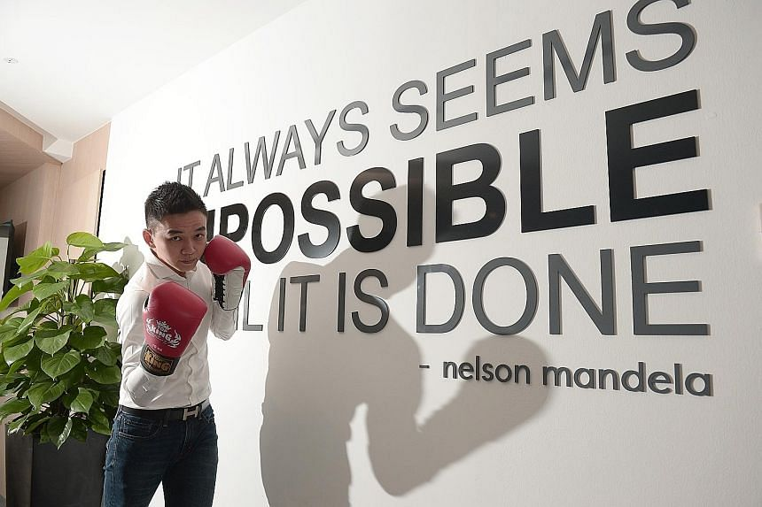"""New Union chief executive Eddie Lee, who is trained in martial arts, wants to return to his real passion and set up a Muay Thai gym, """"where going to work means training every day""""."""