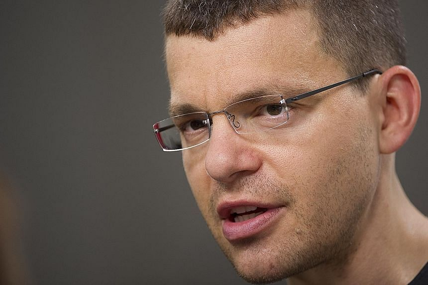 MR MAX LEVCHIN, a co-founder of PayPal who was born in Ukraine.