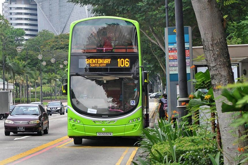 Buses by Singapore's third bus operator Tower Transit have been in operation since May.