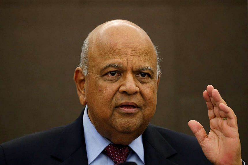 South Africa Finance Minister Pravin Gordhan (pictured) may be charged this week for graft.
