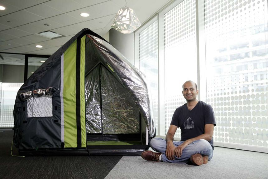 The Singapore-designed weatherHyde tent for the homeless in extreme weather has been a hit on the Internet.