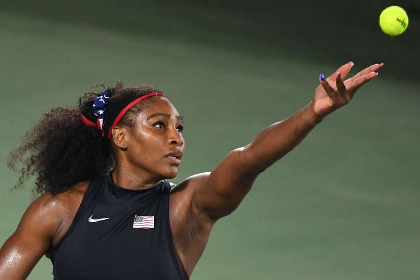 Serena Williams, who has been struggling with a shoulder injury, is chasing a record seventh crown at the US Open.