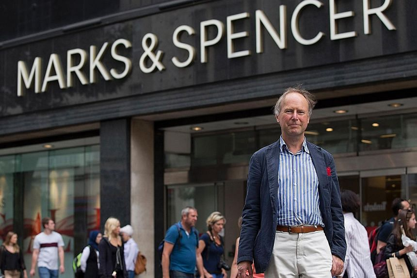 Department store Marks & Spencer in Britain recently said it would stop playing music after a letter-writing campaign by members of Pipedown, founded by Mr Nigel Rodgers (above).