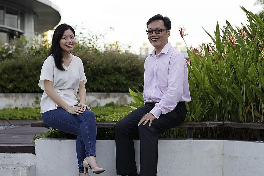 Ms Seet obtained her Master of Science in Innovation from SMU. Mr Lo completed his master's in Technology (Enterprise Business Analytics) at NUS.