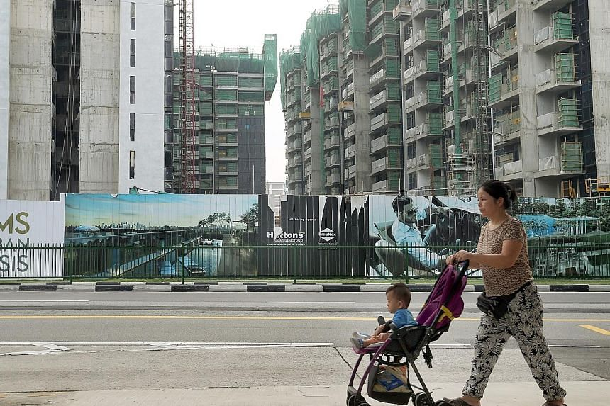 The Sims Urban Oasis condominium worksite was ordered to stop work, and misting and thermal fogging has been conducted.