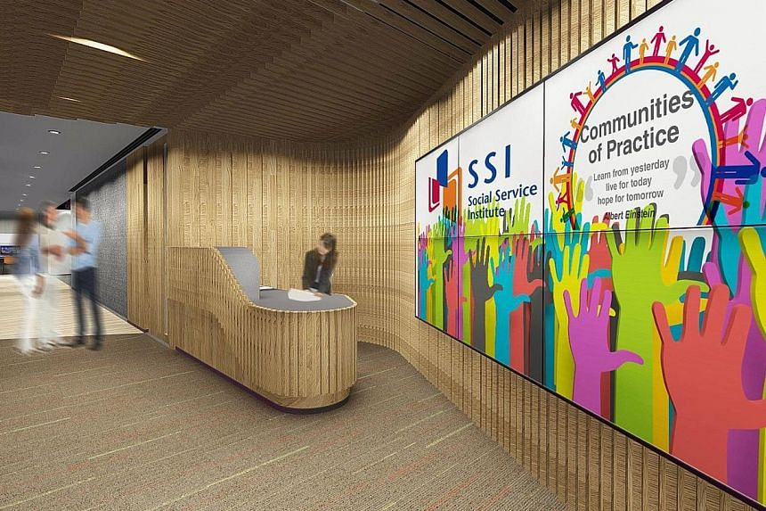 An artist's impressions of the new SSI (left and below). Factors that were considered, before the decision to move was made, included the accessibility of the new location, availability of space to carry out existing and planned functions, suitabilit