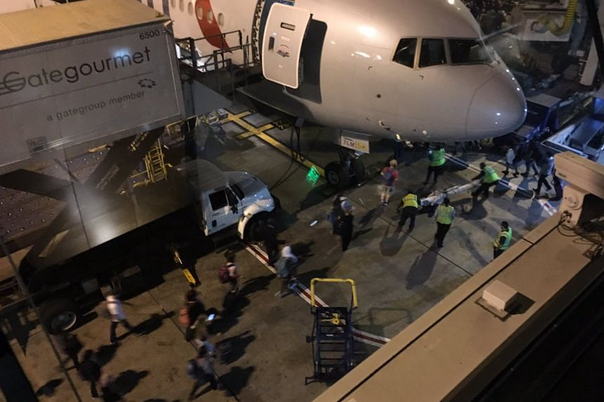 Passengers evacuated at Los Angeles International airport, according to a tweet by a passenger.