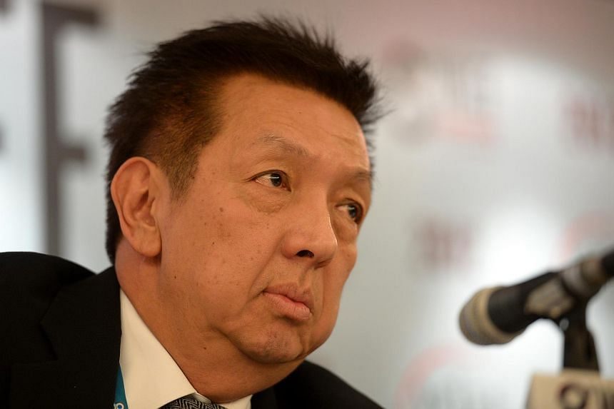 """Billionaire Peter Lim has denied his involvement in internet """"get-rich-quick"""" scams."""
