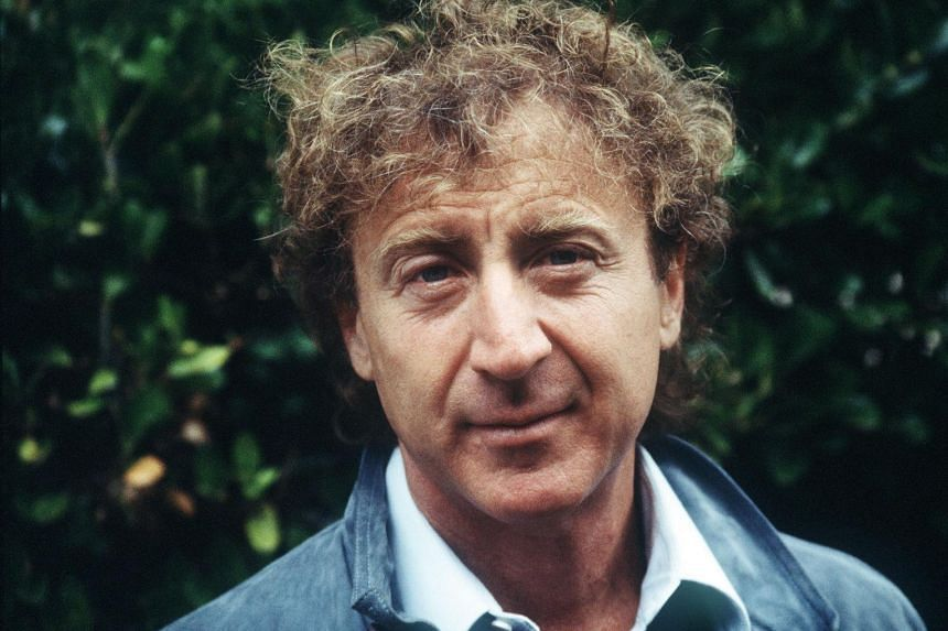 US actor and director Gene Wilder of the movie The Woman in Red during the 10th American Film Festival of Deauville.