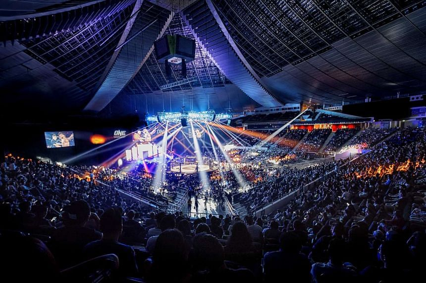 The Singapore Indoor Stadium during the One Championship event Ascent To Power on May 6, 2016.