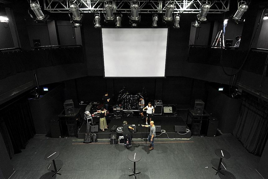 The two-storey Annexe Studio is expected to be used more for live performances and interactive works of dance and theatre.