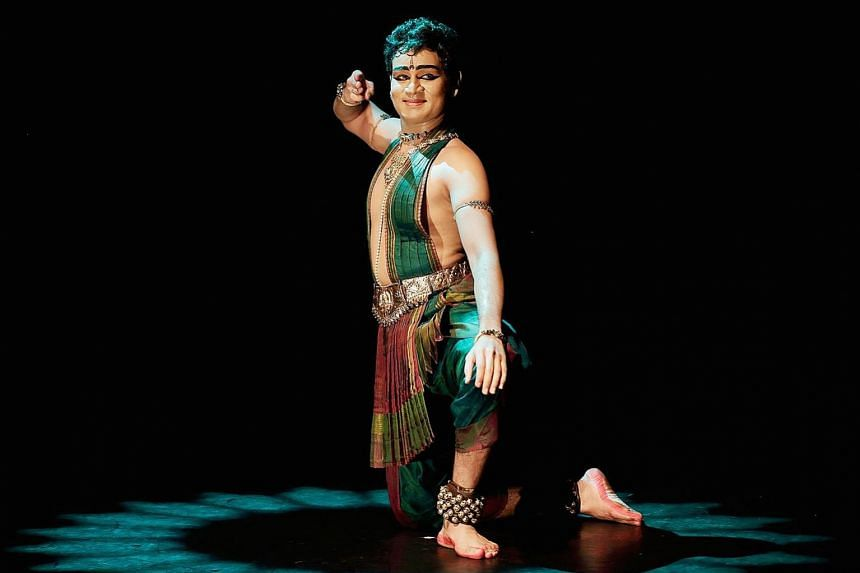 Apsaras Arts' principal dancer and resident choreographer Mohanapriyan Thavarajah is the only male performer in Dances Of Divinity.