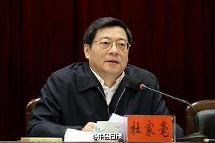 Mr Chen Hao has been promoted from Yunnan governor to party chief of the province. Mr Du Jiahao is the new party boss of central Hunan province. President Xi is cementing his power base ahead of a leadership transition next year.