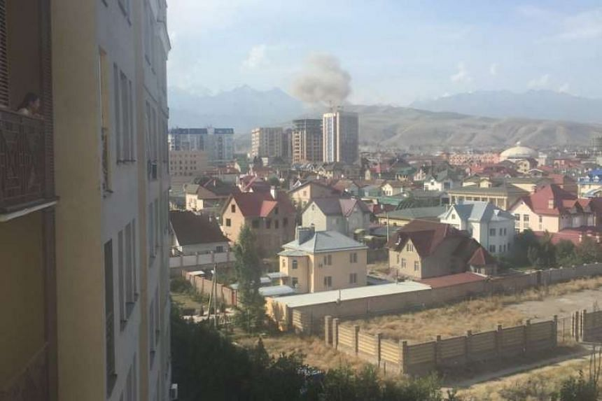 An explosion around the Chinese Embassy in Kyrgyzstan killed and wounded several people on Tuesday (Aug 30), Interfax news agency reported.
