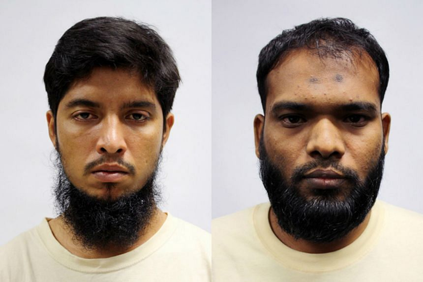 Mamun Leakot Ali, 30 (left), was the group's deputy leader, while Zzaman Daulat, 34, was in the group's security council.