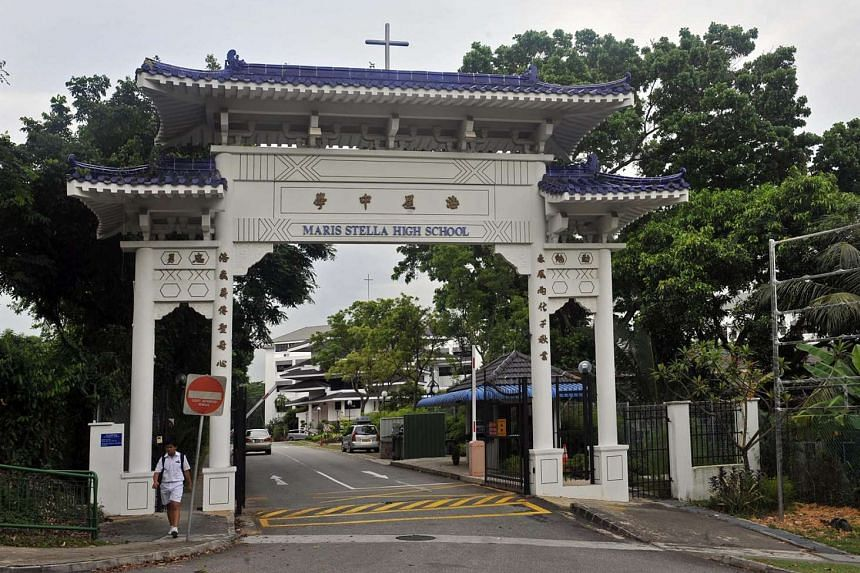A Maris Stella High School (Primary) pupil was found unresponsive upon reaching school on Tuesday (Aug 30) morning.