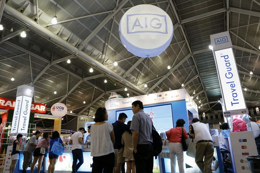 AIG's travel insurance booth at Natas on Aug 14, 2016.