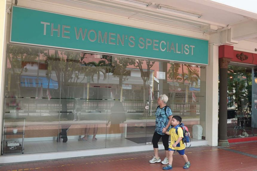 The Women's Specialist clinic at 113 Aljunied Avenue 2.