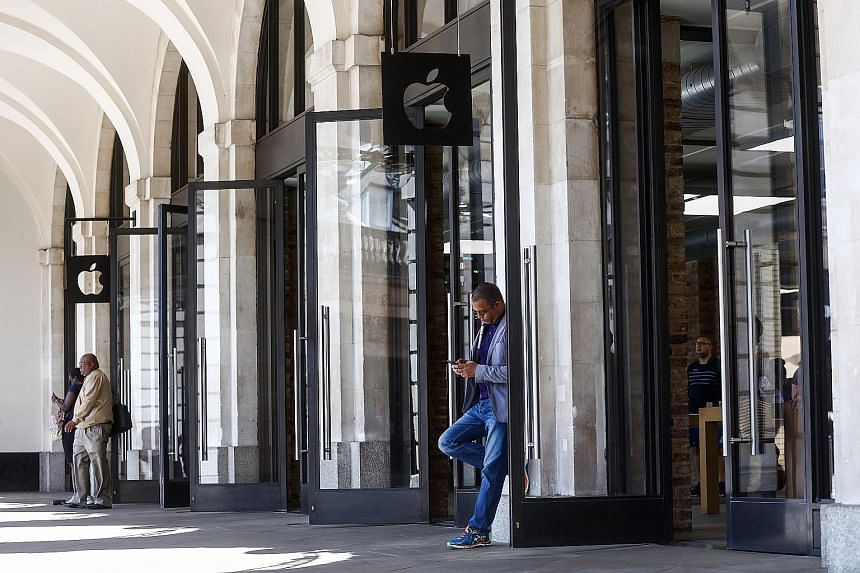 Apple's Covent Garden store in the British capital London. Europe's antitrust enforcer has ordered Ireland to claw back billions of dollars from Apple over illegal tax breaks stretching back 10 years. The European Commission has aggressively sought t